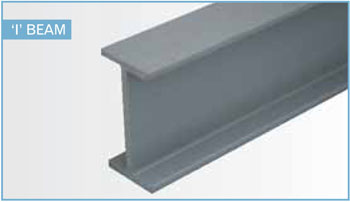 fiberglass structural shapes I-Beam