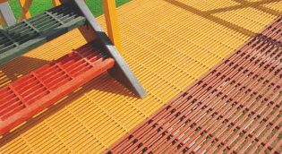 frp grating specification